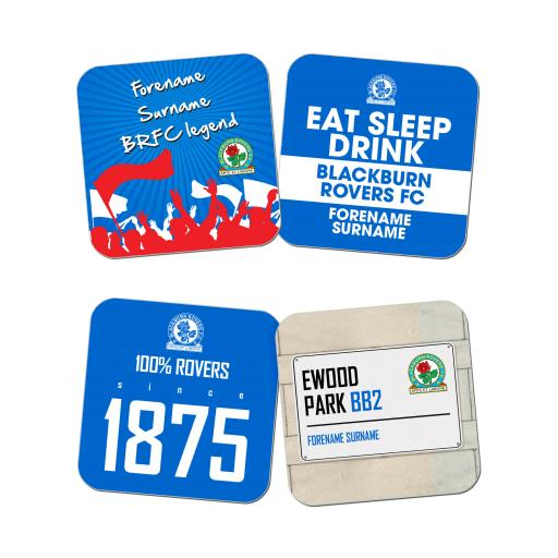 Blackburn Rovers FC Coasters