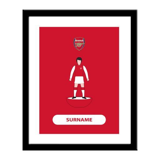 Arsenal FC Player Figure Print