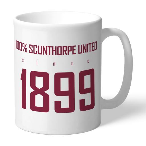Scunthorpe United FC 100 Percent Mug