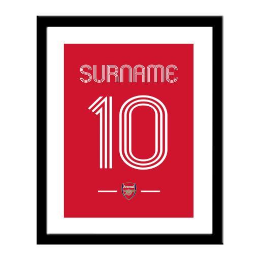 Arsenal FC Retro Shirt Print