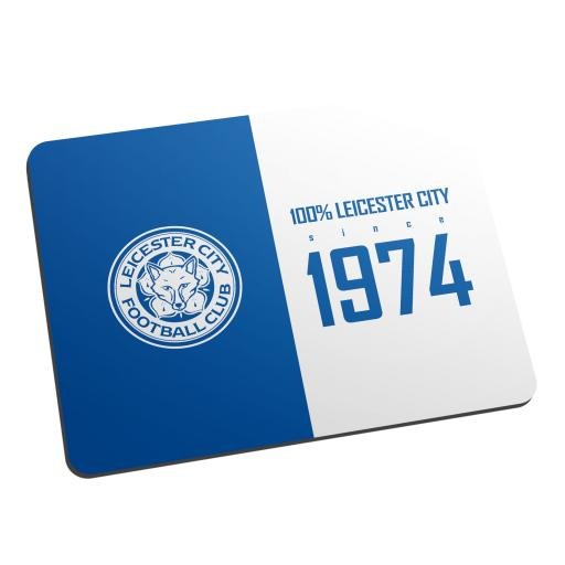 Leicester City FC 100 Percent Mouse Mat