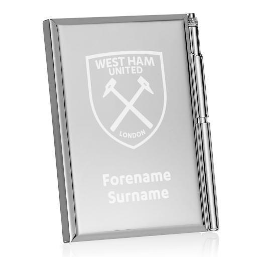 West Ham United FC Crest Address Book
