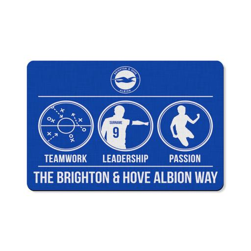 Brighton & Hove Albion FC Way Floor Mat