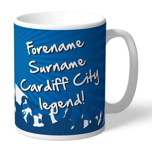 Cardiff City FC Legend Mug