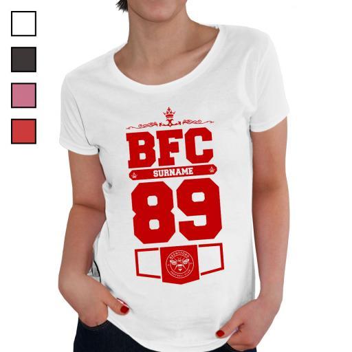 Brentford FC Ladies Club T-Shirt