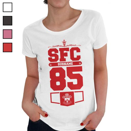 Southampton FC Ladies Club T-Shirt