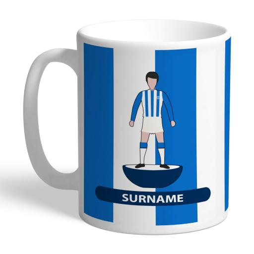 Personalised Huddersfield Town Player Figure Mug.