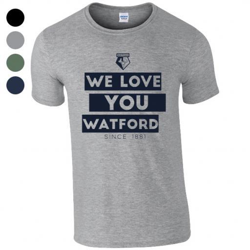 Watford FC Chant T-Shirt