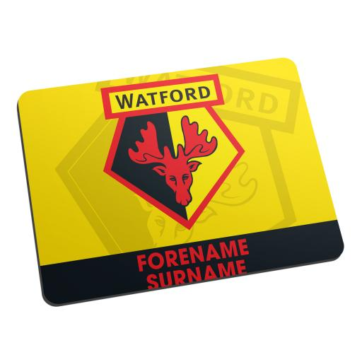 Watford FC Bold Crest Mouse Mat