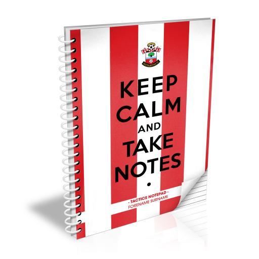 Southampton FC Keep Calm Notebook