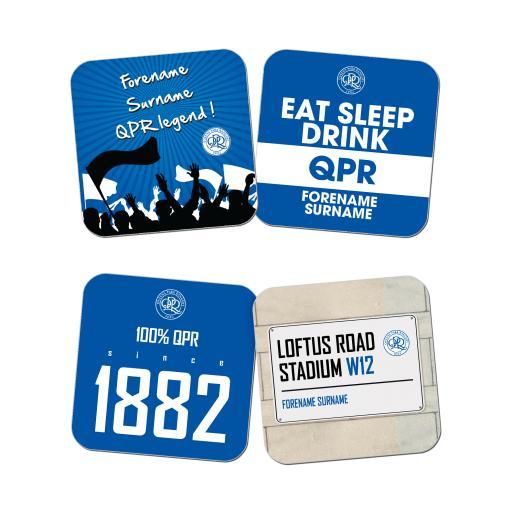 Queens Park Rangers FC Coasters