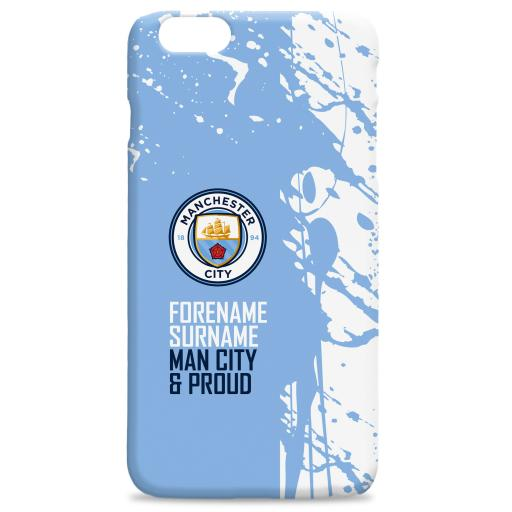 Manchester City FC Proud Hard Back Phone Case
