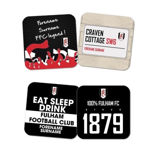 Fulham FC Coasters