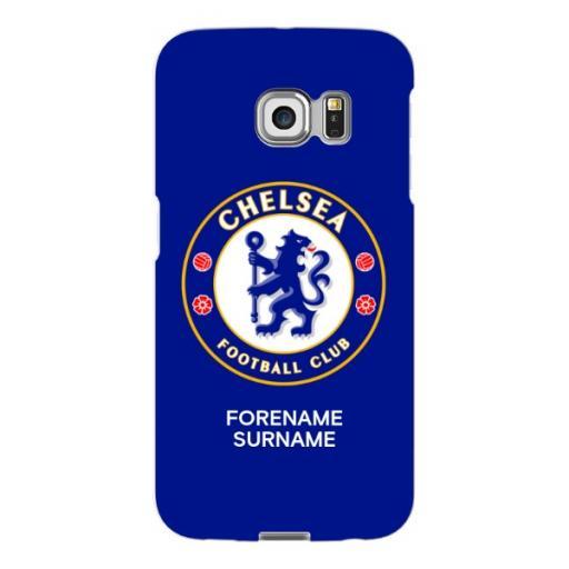 Chelsea FC Bold Crest Samsung Galaxy S6 Edge Phone Case
