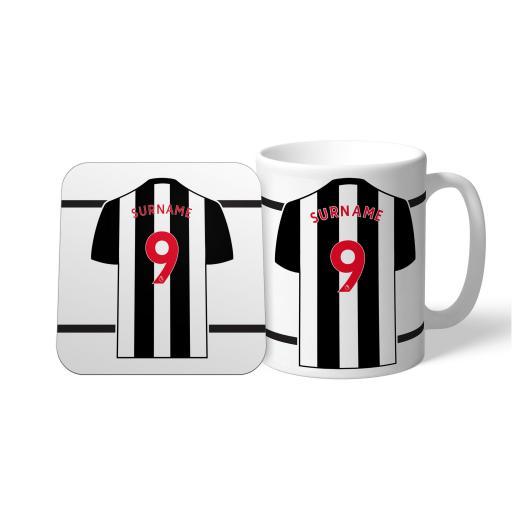 Newcastle United FC Shirt Mug & Coaster Set