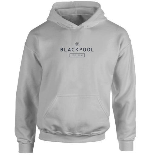 Personalised Blackpool FC Minimal Hoodie.