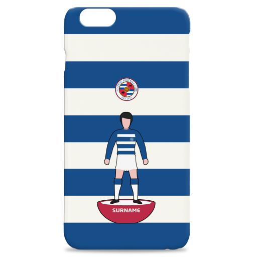 Reading Player Figure Hard Back Phone Case