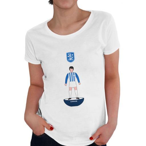 Huddersfield Town Player Figure Ladies T-Shirt