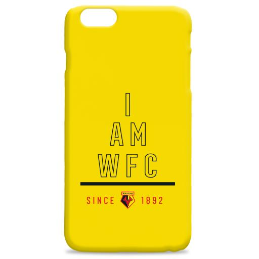 Watford FC I Am Phone Case