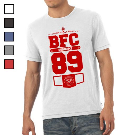 Brentford FC Mens Club T-Shirt