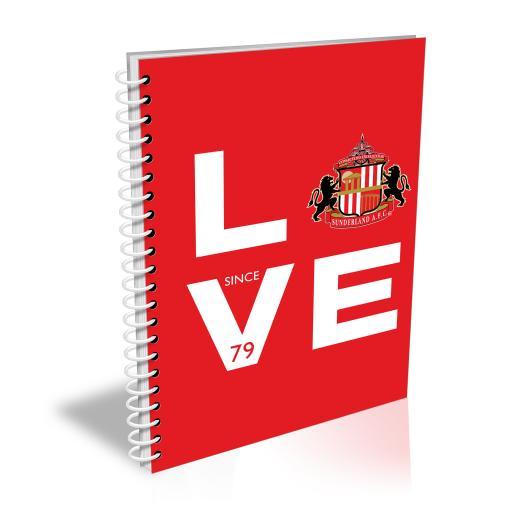 Sunderland Love Notebook