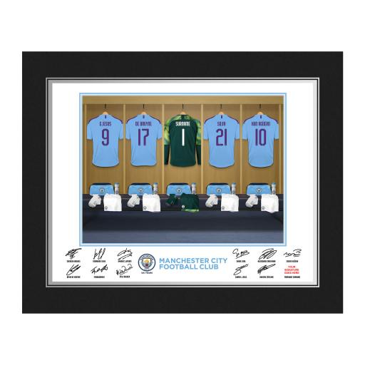MCFC Goalkeeper Dressing Room Photo Folder