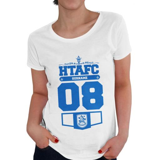 Huddersfield Town Ladies Club T-Shirt