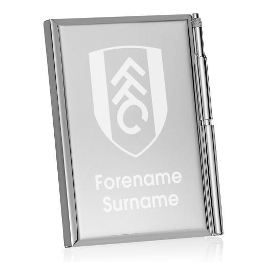 Fulham FC Crest Address Book