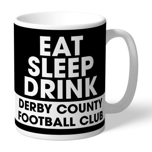 Derby County Eat Sleep Drink Mug