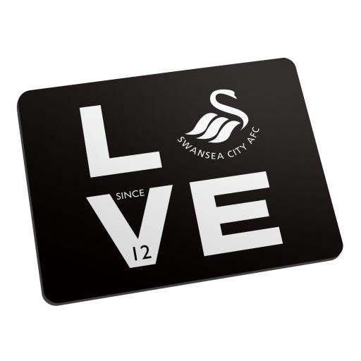 Swansea City AFC Love Mouse Mat