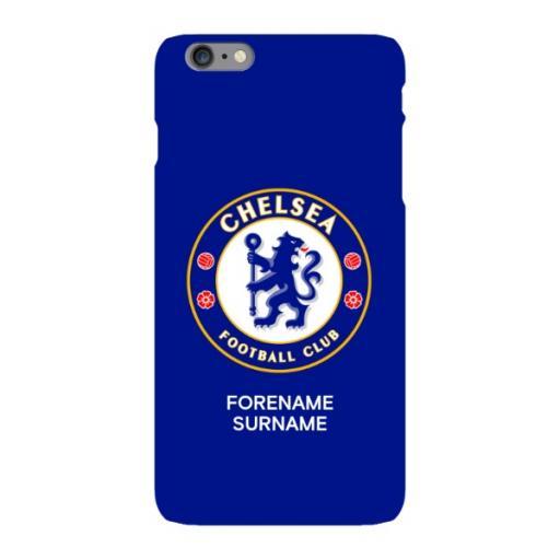 Chelsea FC Bold Crest iPhone 6S Plus Phone Case