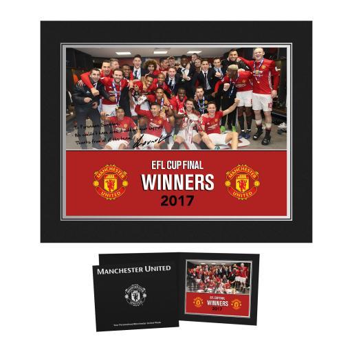 Manchester United FC EFL Cup Winners 2017 Photo Folder