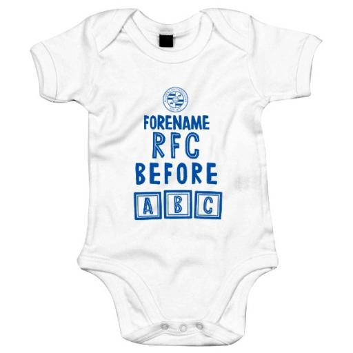 Reading FC Before ABC Baby Bodysuit