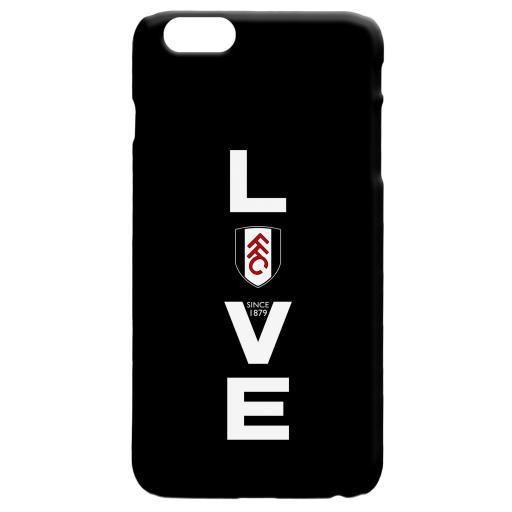 Fulham FC Love Hard Back Phone Case