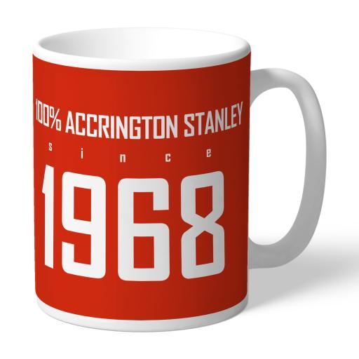 Accrington Stanley 100 Percent Mug