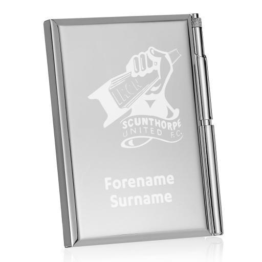 Scunthorpe United FC Crest Address Book