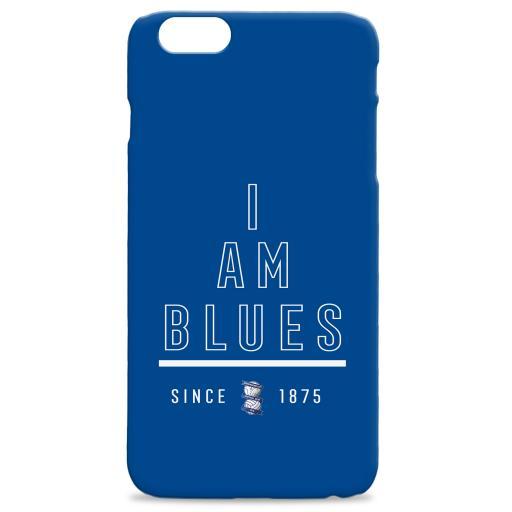 Personalised Birmingham City I Am Hard Back Phone Case.
