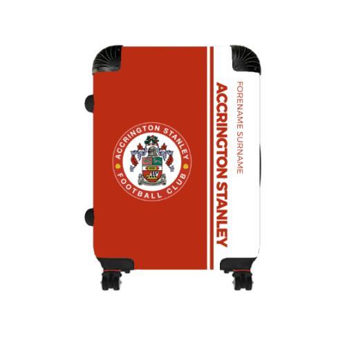 Accrington Stanley Crest Cabin Suitcase