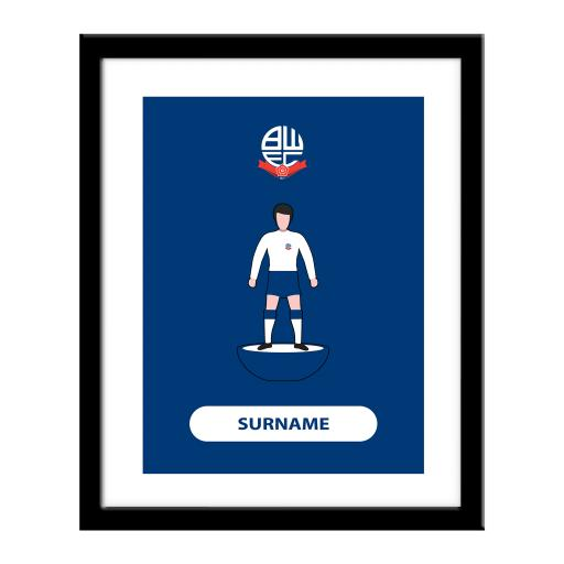 Bolton Wanderers Player Figure Print