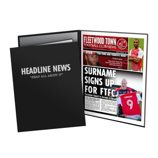 Fleetwood Town FC News Folder