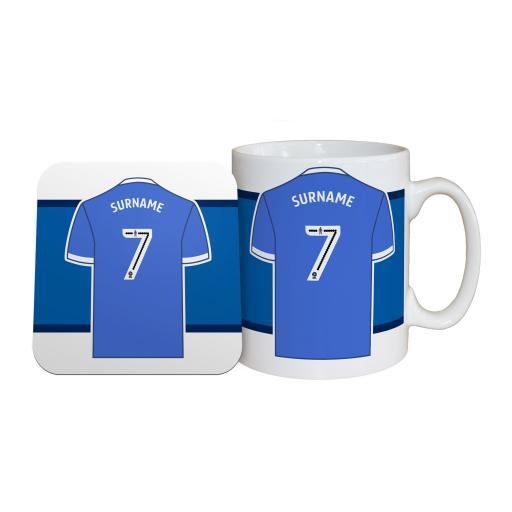 Sheffield Wednesday FC Shirt Mug & Coaster Set