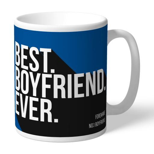 Personalised Birmingham City Best Boyfriend Ever Mug.