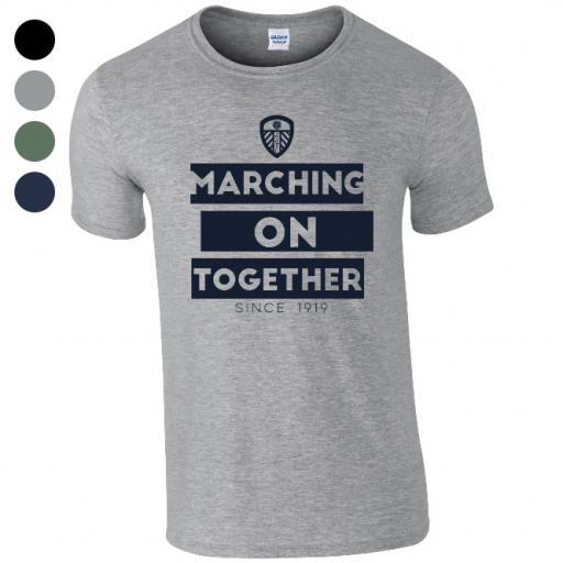 Personalised Leeds United FC Chant T-Shirt.