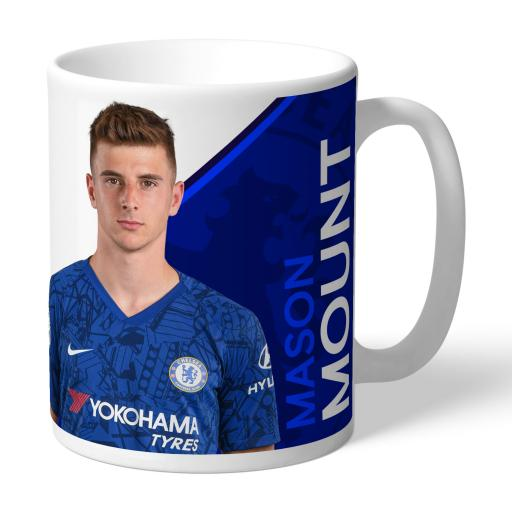 Chelsea FC Mount Autograph Mug