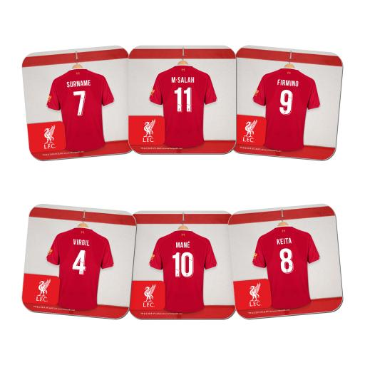 Liverpool FC Dressing Room Coasters