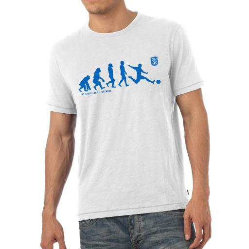 Huddersfield Town Evolution Mens T-Shirt