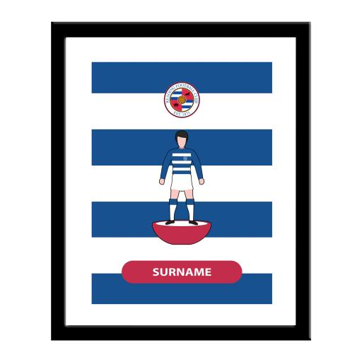 Reading FC Player Figure Print