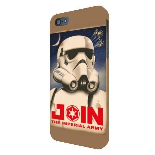 "Star Wars Rebels ""Join The Imperial Army"" iPhone 5 /5S / 5SE Clip Case"