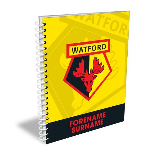 Watford FC Bold Crest Notebook