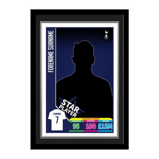 Tottenham Hotspur Trading Card Print Framed